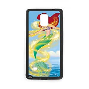 Little Mermaid III - Ariel's Beginning Samsung Galaxy Note 4 Cell Phone Case Black I0483799
