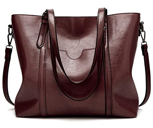 SIFINI Women Fashion Top Handle Satchel Handbags Shoulder Bag Tote Purse Crossbody Bag ()