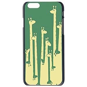 Fashion Cartoon Giraffe , Cat Design Giraffe ,Cats Plastic Hard Case Cover Back Skin Protector For Apple iphone 5cG Plus by Alexism Size83