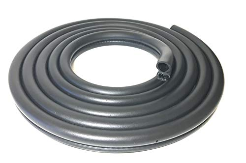 FLEXTOR Car Door Rubber Seal Weather Stripping Body Mounted (10 Feet)