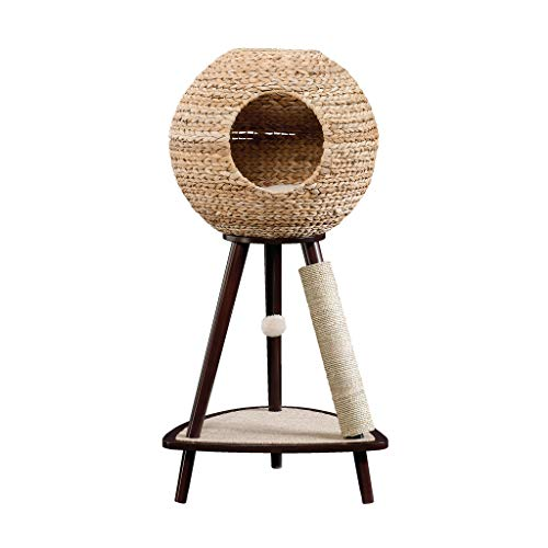 Sauder 774747 Natural Sphere Cat Tower