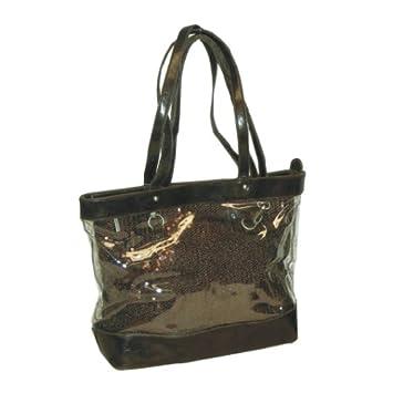 Amazon.com   2 IN 1 Bag Sequin Brown   Diaper Tote Bags   Baby 8592445ecbc08
