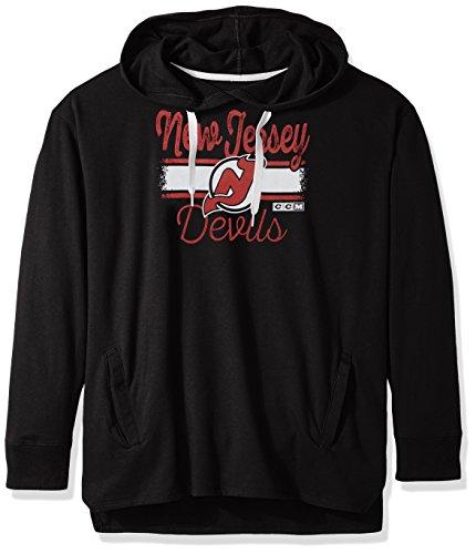 NHL womens Bottom Stripe Fleece Hood – DiZiSports Store
