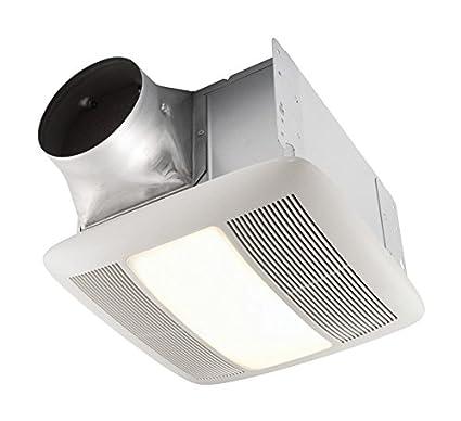 nutone bathroom fan light bulb replacement cfm ceiling nutone qtxen150flt ultra silent bath fan with light and nightlight energy star amazoncom