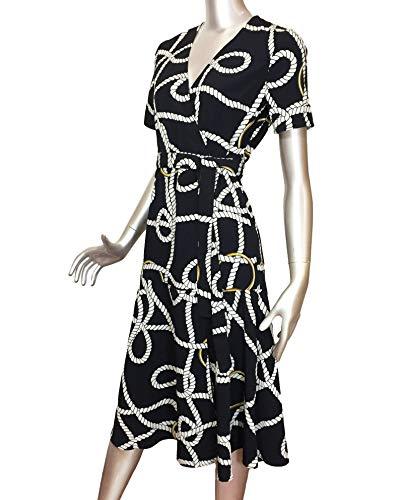 Mango Scarf print 41051114 Donna Dress Long x6UzTxr