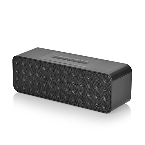 Wireless Bluetooth Speaker,Juboury Portable Stereo Speaker with HD Sound and Bass,Built-in Microphone,SD Card Slot for Handfree Phone Call
