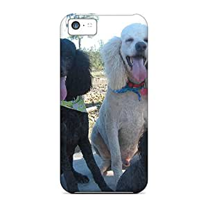 Iphone Covers Cases - Happy Poodle On Thier Photography Walk Protective Cases Compatibel With Iphone 5c