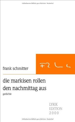 die markisen rollen den nachmittag aus (German Edition) pdf epub