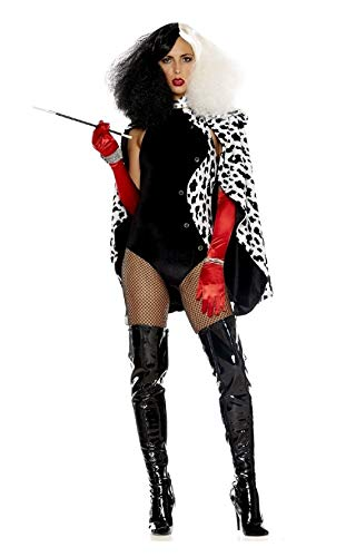 Devilish Dalmatian Diva Adult Womens Costume Cruella Forplay