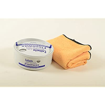 Collinite 885 Heavy Duty Fleetwax Paste and Towel Combo: Automotive