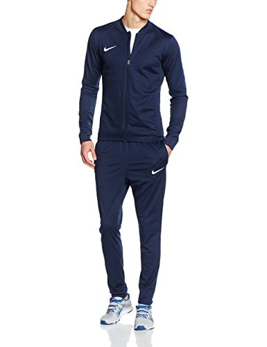 NIKE Men's Academy 16 Knit Tracksuit (L, Dark Blue)