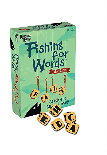 Fishing for Words Pesca di Parole 01389 Word Game