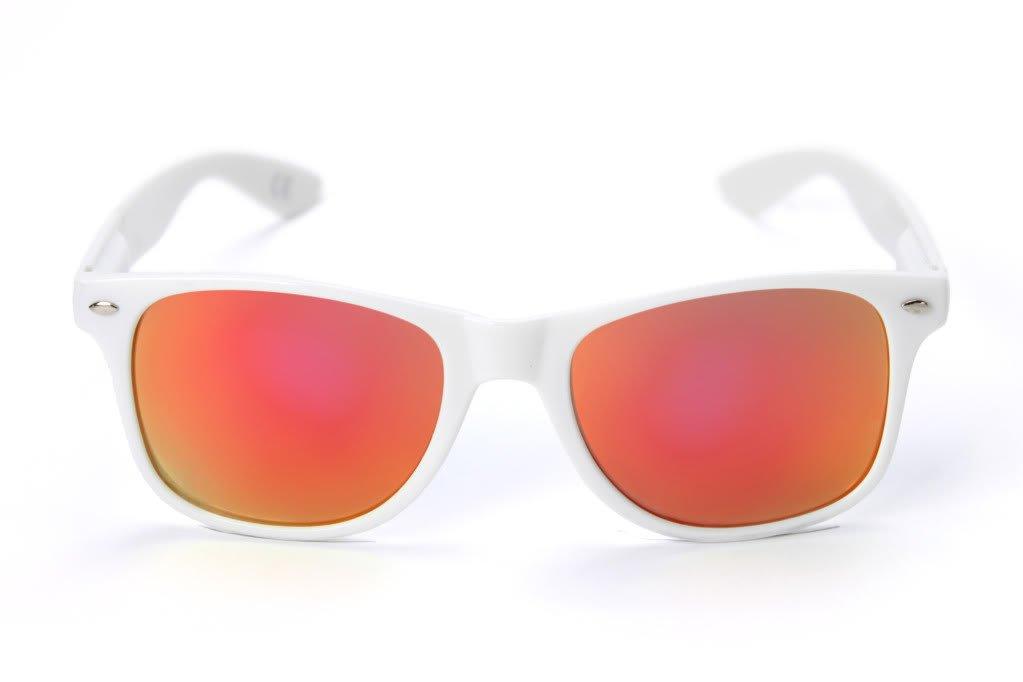 White NCAA Texas A/&M Aggies TEXAM-4 White Frame One Size Maroon Lenses Sunglasses