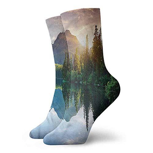 Socks Comfort Free Shopping Sunrise,Slovakia National Park Pine 3.4