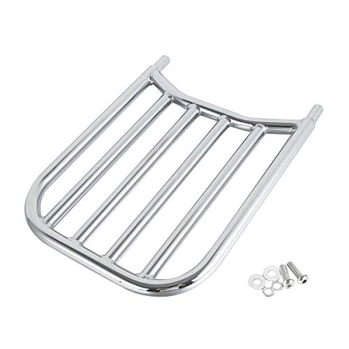 Chrome Backrest Sissy Bar Luggage Rack For Indian Chieftain Chief Springfield Roadmaster Dark Horse Classic 2014-2019