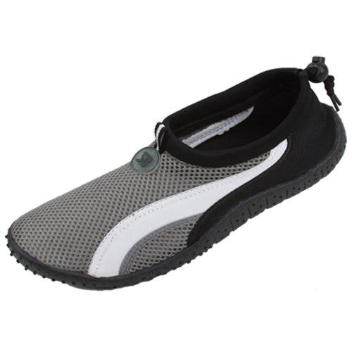 5A908 Men's 4 Colors Water Shoes Aqua Socks Slip on Athletic