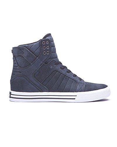SupraSkytop - Sneaker Alta Uomo (Black / White - White)