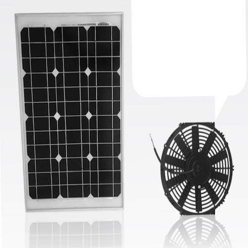 Amtrak Solar ventilador de ático 40 W, más potente motor de ...