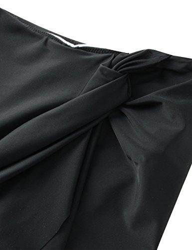 Noir Feelingirl Maillots Avec Bain Bikinis De Culotte Short Bas Jupe Jupette OxqpOZvw