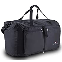 Suvelle Lightweight 29 Travel Foldable Duffel Bag for Luggage Gym Sports Water Resistant Nylon Duffle