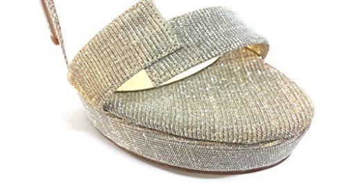 J442 BEIGE Scarpa donna Melluso sandalo tacco alto