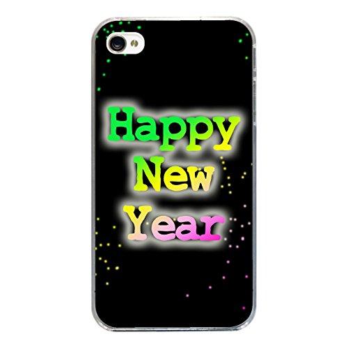 "Disagu Design Case Coque pour Apple iPhone 4 Housse etui coque pochette ""Happy New Year No.1"""