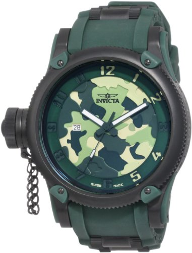 Invicta Men's 1197 Russian Diver Collection Camo Watch ()