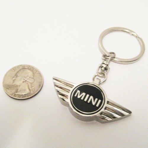 Mini Cooper Black Three-dimensional Keychain ()