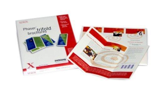 Xerox 103R01018 Tri-Fold Brochure Paper (8.5x11, 150 Sheets) by Xerox