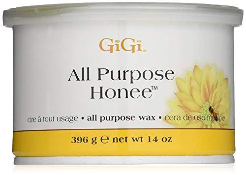 GiGi All Purpose Hard Wax - Honee Hard 14 oz. (Pack of 2) ()