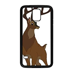 Samsung Galaxy S5 Phone Case Black Bambi Great Prince of the Forest BU3043013