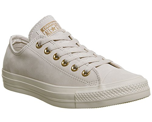 Converse Ledersneaker CT AS OX 157569C Grau Whisper Pink Rose Gold Exclusive