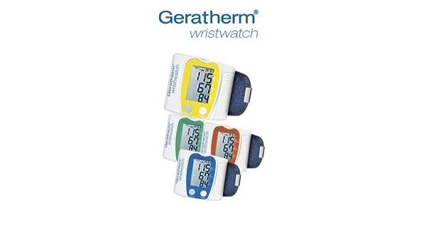 Geratherm Reloj de pulsera Presión Arterial Medición en Su Muñeca! VERDE: Amazon.es: Salud y cuidado personal