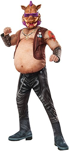 Rubie's Costume Kids Teenage Mutant Ninja Turtles 2 Deluxe Bebop Costume, Small (Teenage Mutant Ninja Turtles Halloween)