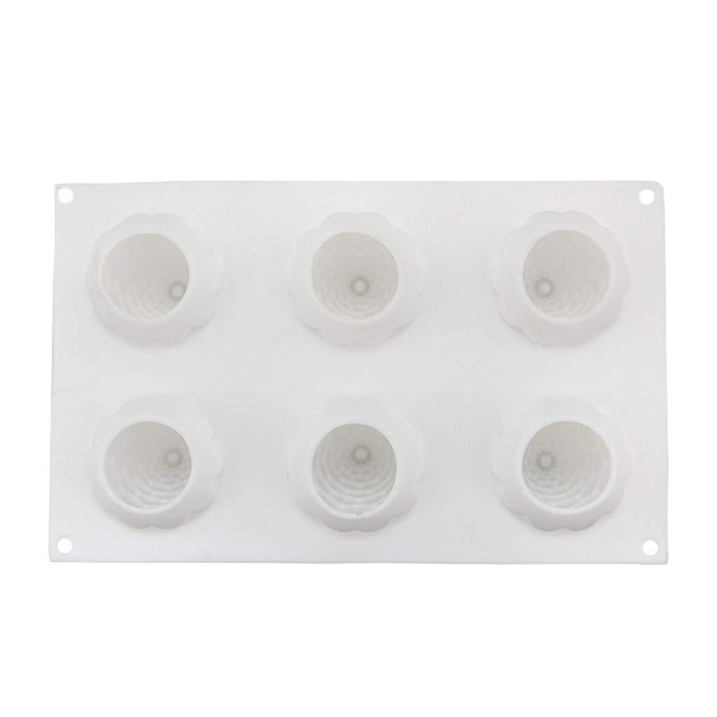 Sitonelectic Moule en silicone pour d/écoration de g/âteaux en forme de pommes de pin