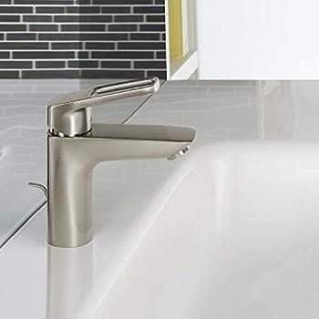 Hansgrohe Logis Loop Single Hole Bathroom Faucet Brushed