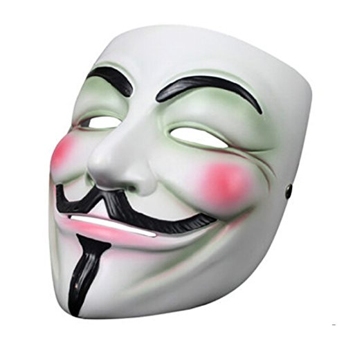 V And A Hollywood Costumes (Vintage V for Vendetta Movie Prop Mask Hollywood Replica Props)