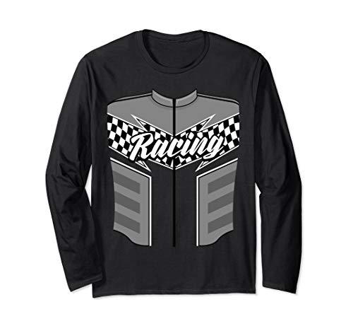 Cute Race Car Driver Halloween Costume Shirt Drag Racer Gift ()