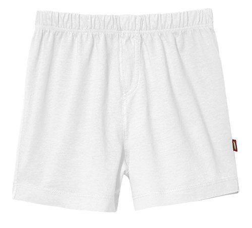 City Threads Boys Boxer Shorts Underwear Briefs in All Soft Cotton Sensitive Skin and SPD for Active Kids, White, 14 by City Threads