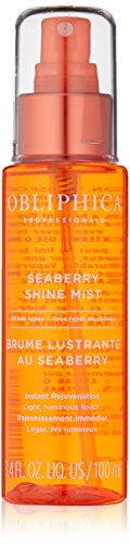 Obliphica Professional Seaberry Shine Mist, 3.4 Fl Oz