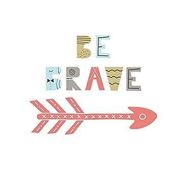 Cotizaciones de colores Be Brave Flechas Vinilo Pegatinas de Pared ...