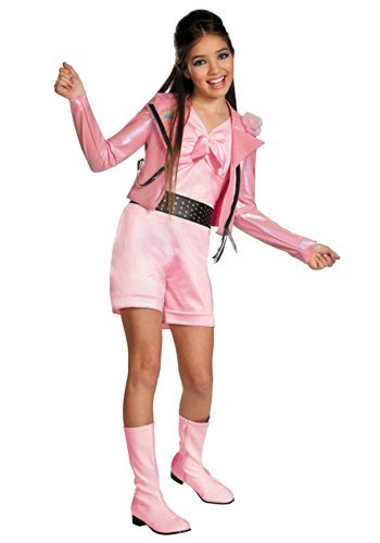 [Disguise Disney Teen Beach Movie Lela Biker Deluxe Girls Costume, 4-6X by Disguise] (Biker Teen Costumes)