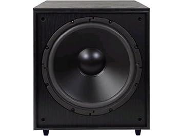 speakers 12 inch. pinnacle speakers ps sub 225 12-inch watt front firing powered subwoofer (black 12 inch 1