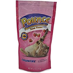 Pounce Tuna Flavored Cat Tartar and Plaque Control Snack Pack of 6