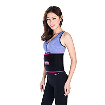 TUOY Womens Waist Trainer Belt,Waist Cincher Trimmer Slimming Workout Body Shaper for Weight Loss One Size Fits 48 Inches