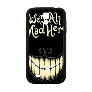 Happy We Are All Mad Here Hot Seller Stylish Hard Case For Samsung Galaxy S4