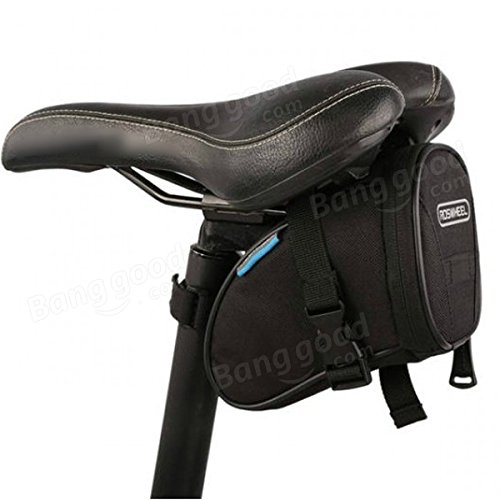 Cycling Bike Bicycle Rear Seat Saddle 1L Tail Bag Quick Release ( Colorful ) by Freelance Shop SportingGoods (Image #2)
