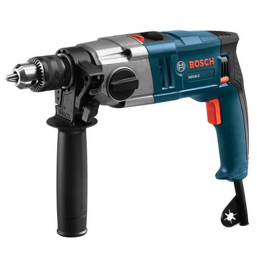Bosch HD182RT 8.5 Amp 1/2 in. Two-Speed Hammer Drill (Certified Refurbished)