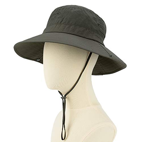 9ab13fd329084 Sptlimes Fashion Summer Outdoor Sun Protection Cap Wide Brim Summer Hat for  Fishing Hiking