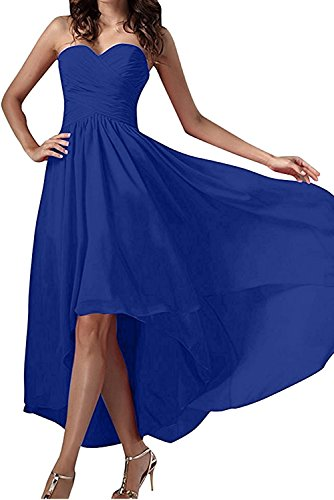 Royal Lo Partykleider Braut Linie Hi Blau Brautjungfernkleider Lila Chiffon La Abendkleider Marie A Traegerlos Dunkel Ow1q4Z4B